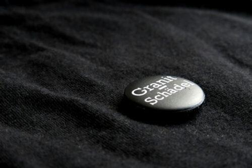 Granitschädel Oberlausitz Button