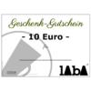 LABA Gutschein 10 Euro