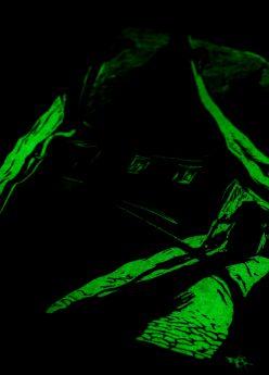T-Shirt Hexenhaus//Warnecke bei Nacht