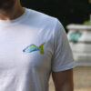 "T-Shirt ""Karpfen blau"""